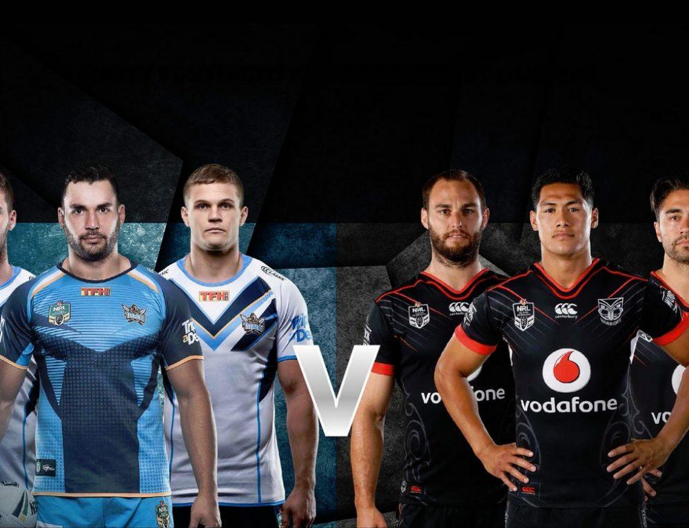 Gold Coast Titans VS New Zealand Warriors 24 March Venue: Sunshine Coast Stadium